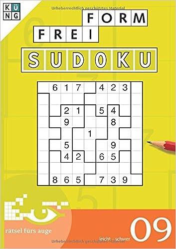 Freiform Sudoku 09 Freiform Sudoku Taschenbuch Logik Rätsel