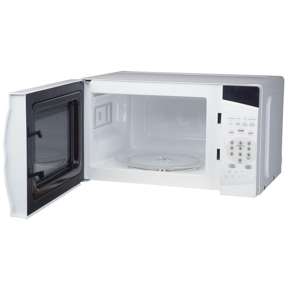 Amazon.com: MAGIC CHEF Countertop Microwave Oven 0.7 cu. ft. White: Kitchen & Dining