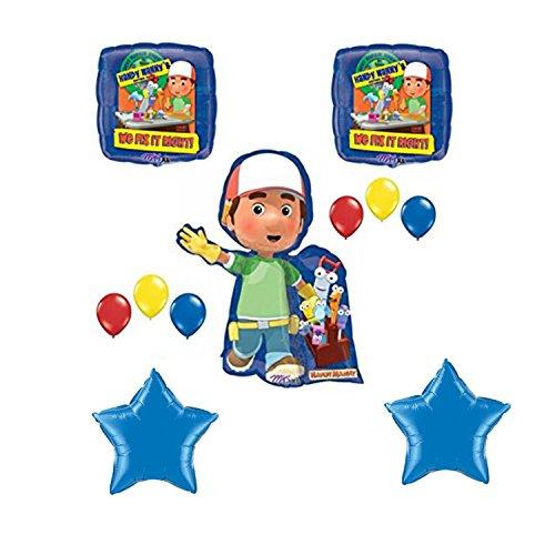 - Handy Manny Happy Birthday Balloon Decoration Kit