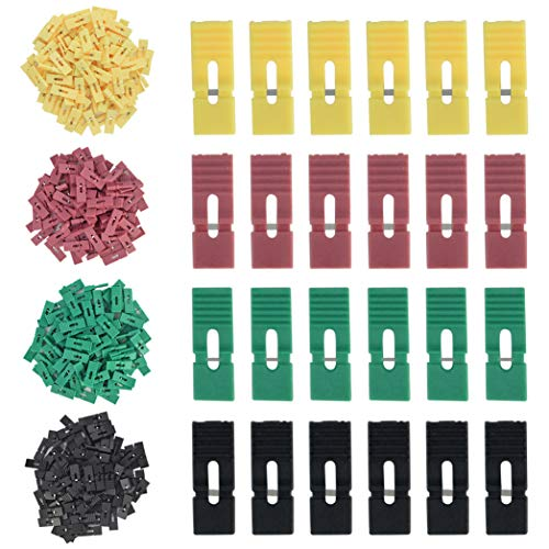 400PCS Jumper Caps with Handle Pin Shunt, Miayon 2.54mm Short Circuit Cap Jumper Bridge Plug for Arduino Raspberry Pi PCB PC DVD HDD