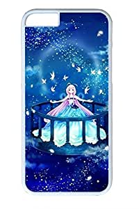 Beautiful Anime Girl Slim Soft Cover Case For Iphone 5/5S Cover PC White Cases