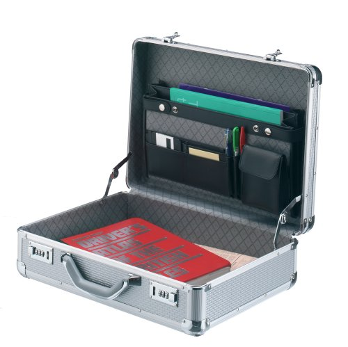 Falcon Aluminium Attache Case - Caja (Aluminio, Plata, 470 mm, 150 mm, 360 mm, 2,5 kg)