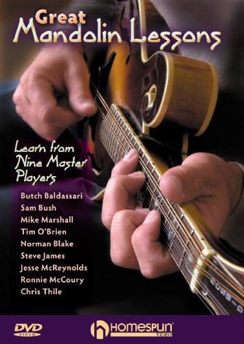 - Great Mandolin Lessons-Learn From Nine Master Players