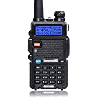 Baofeng UV-5R Dual-Band Two Way Radio Walkie Talkie with Earpiece - Built-in VOX Function, 136-174/400-480MHz