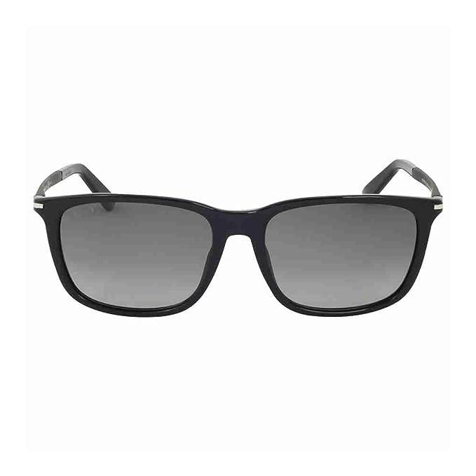 0d6e342a4af Gucci GG 1107 F S Asian Fit Men s Grey Gradient Polarized Lenses Acetate  Wayfarer Frame Sunglasses  Amazon.co.uk  Clothing
