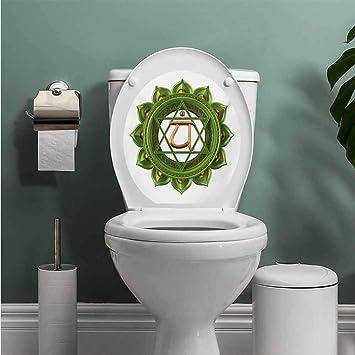 Incredible Amazon Com Auraise Heybee Chakra Toilet Seat Tattoo Cover Beatyapartments Chair Design Images Beatyapartmentscom