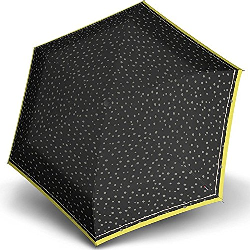 Knirps 815-499-0 Compact Manual Open/Close Travel Umbrella, One Size (Flakes (Manual Open Compact Umbrella)