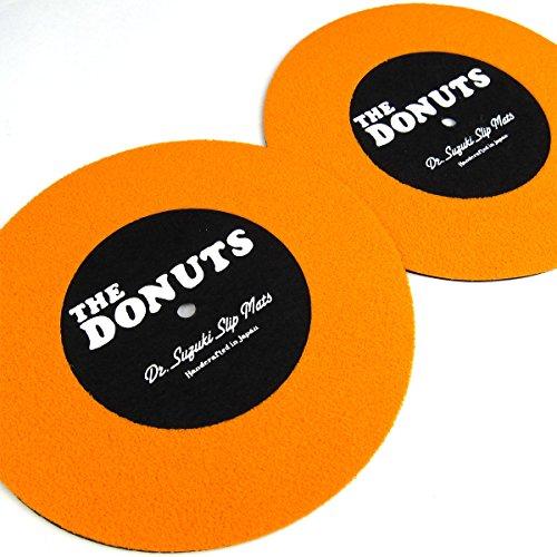 "Stokyo JP: Dr. Suzuki The Donuts 7"" Slipmats - Black (Limited Edition)"