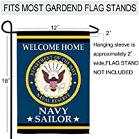 Hexagram Us Army Garden Flags 12x18 Prime,Burlap Welcome Yard Double Sided Banner Military Flag with Rubber Stopper and Clip,Outddor Patriotic Small Army Veteran Decorations