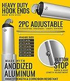 Urquid Linen Pipe and Drape Adjustable