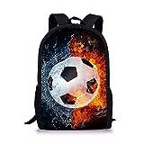Showudesigns Soccer Print School Backpack Bookbag Kids Primary Practical Travel Daypack Review
