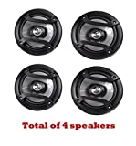 4 X Pioneer TS-165P 6.5in Inch 2-Way Car Audio Speakers - Car Spekaer Package (Renewed)