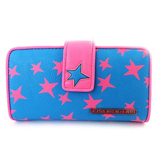 Wallet 'Agatha Ruiz De La Prada' pink blue (m).