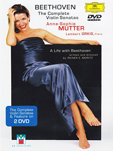 DVD : Anne-Sophie Mutter - Complete Violin Sonatas (Subtitled, 2PC)
