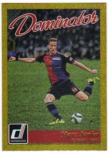 fan products of 2016 Donruss Dominators Gold #28 Marc Janko FC Basel 1893 Soccer Card