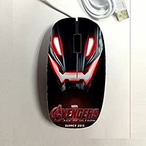 Generic Printed Avengers Age Of Ultron For Kid Mouse Difference