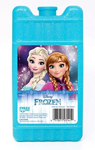 Lifoam 1034325 Freez Pak Disney Frozen Reusable Ice Pack, Mini, Light Blue