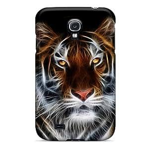 Galaxy S4 Tiger Art Print High Quality Tpu Gel Frame Case Cover by Maris's Diary