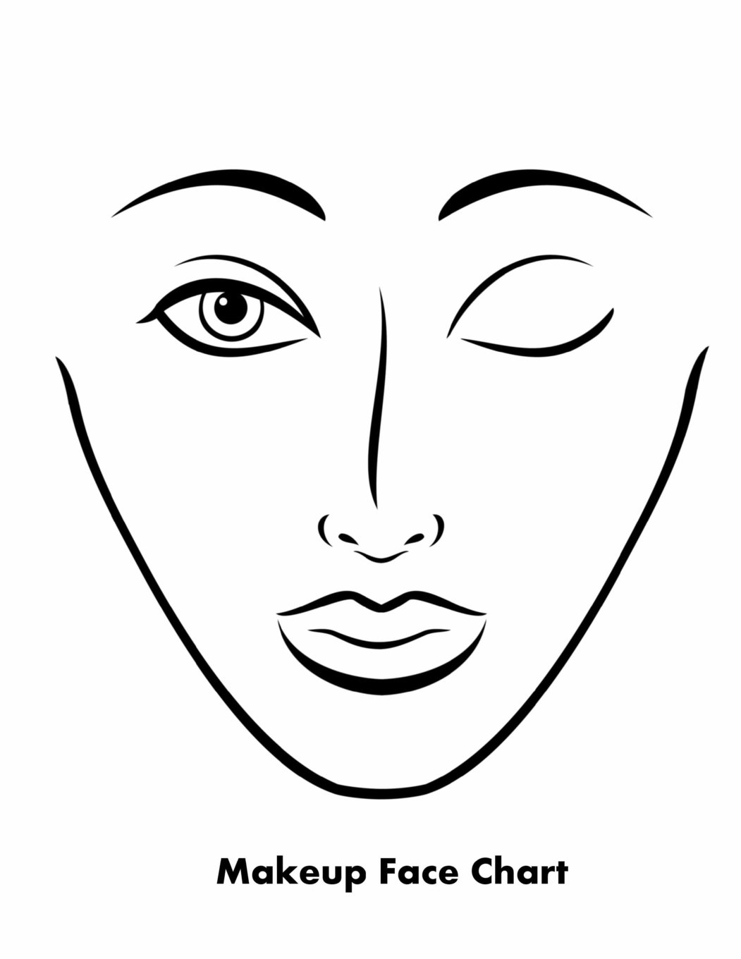 Buy makeup face chart book online at low prices in india makeup