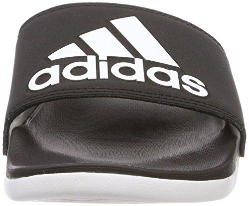 Black Wht Logo core Adilette ftwr amp; Cf core Chaussures Femme Piscine Black Adidas De Noir Plage W q1acnngU