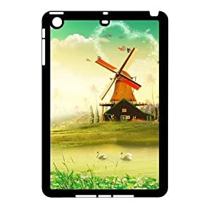 Charming scenery DIY Cover Case with Hard Shell Protection for Ipad Mini Case lxa#225618 by mcsharks