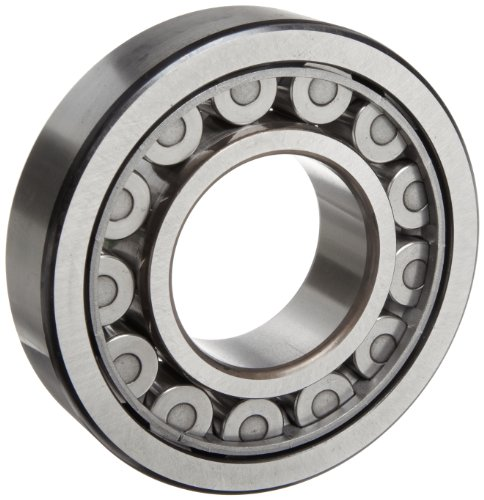 SKF NU 317 ECJ Cylindrical Roller Bearing, Removable Inner Ring, Straight, High Capacity, Steel Cage, Metric, 85mm Bore, 180mm OD, 41mm Width, 3600rpm Maximum Rotational Speed, 75300lbf Static Load Capacity, 66800lbf Dynamic Load Capacity by SKF