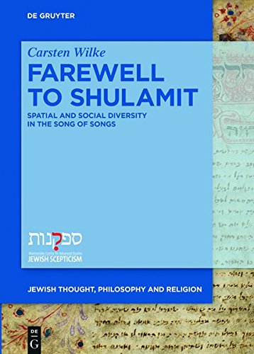 Farewell to Shulamit (Jewish Thought, Philosophy, and Religion)
