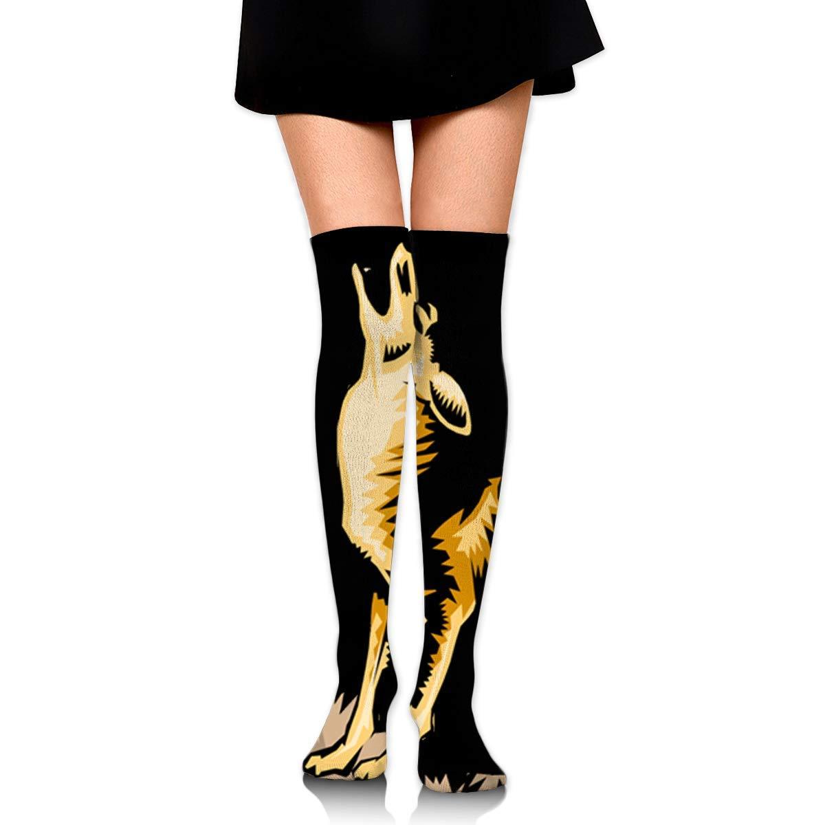 Amazon.com: Feng Yu - Calcetines altos para niñas ...