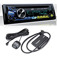 JVC KD-R980BTS iPod & Android USB/CD Receiver with Bluetooth with Sirius XM Tuner
