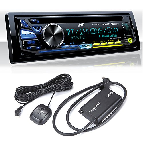 Jvc Xm Tuner (JVC KD-RD98BTS iPod & Android USB/CD Receiver with Bluetooth with Sirius XM Tuner)