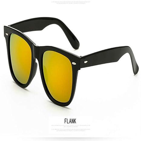 Yangjing-hl Nuevas Gafas de Sol Hombres/Mujeres diseñador de ...