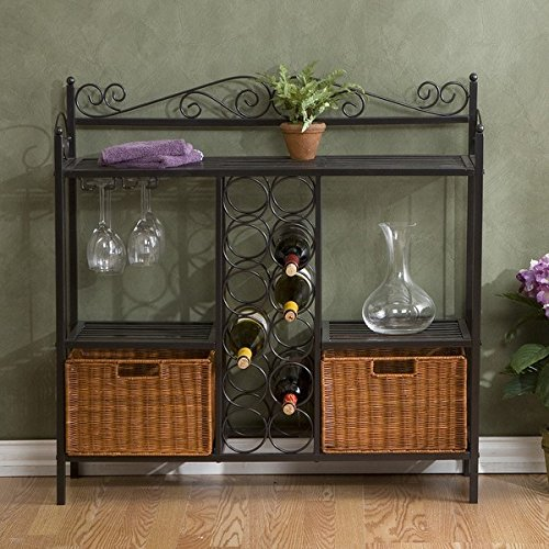 Home Decoration Baker's Rack with Wine Storage by Harper Blvd