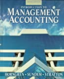 Management Accounting, Horngren, Charles T., 013205535X