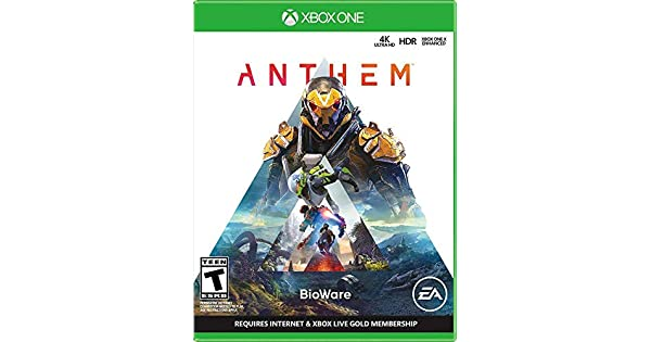 Amazon com: Anthem - Xbox One: Electronic Arts: Video Games