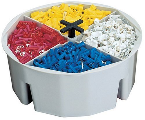 CLC Custom Leathercraft 1152 2?-Inch High, Full-Round Bucket Tray