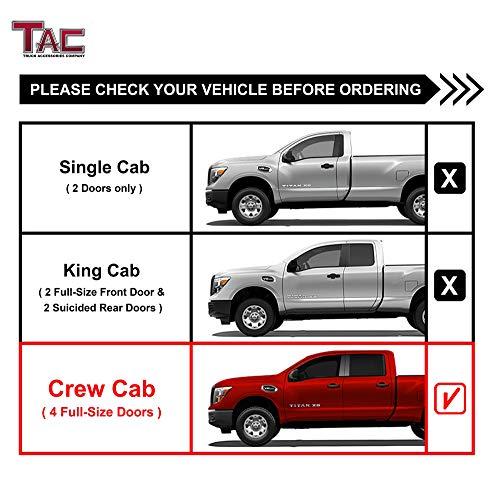 2019 Nissan Titan: TAC Facet Measures Match 2004-2019 Nissan Titan Crew Taxi