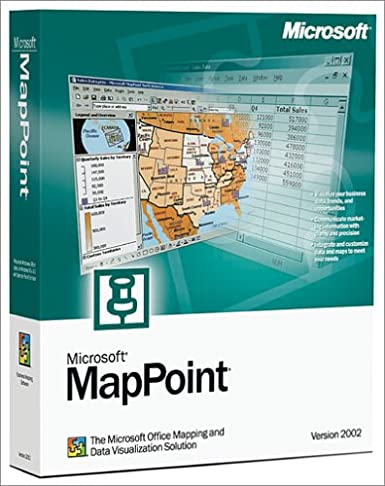 Microsoft MapPoint 2010 North America Program Price
