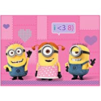 Despicable Me Minions We Love Minions Accent Rug, 3.4 x 4.6
