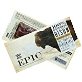Epic (Sample) All Natural Meat Bar, 100% Grass Fed, Bison, Uncured Bacon and Cranberry, 1.3 ounce bar