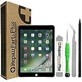 iPad Air 2 Screen Replacement LCD Glass Digitizer Premium Kit by RepairPartsPlus (Black)