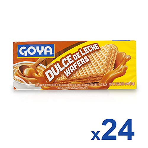 - Goya Foods Dulce Le Leche Wafer, 4.94 Ounce (Pack of 24)