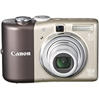 Canon Powershot A1000IS 10MP Digital Camera with 4x Optical Image Stabilized Zoom (Brown) Basic Intro Review Image
