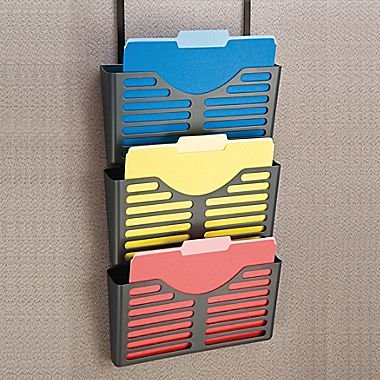 UPC 718103160629, dps by Staples; Verti-Go Cubicle Accessories, 3-Tier File Pocket with Hanger