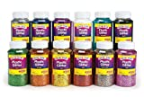 Colorations Extra-Safe Plastic Glitter, 1 lb. - Set of All 12 (Item # GLSET)