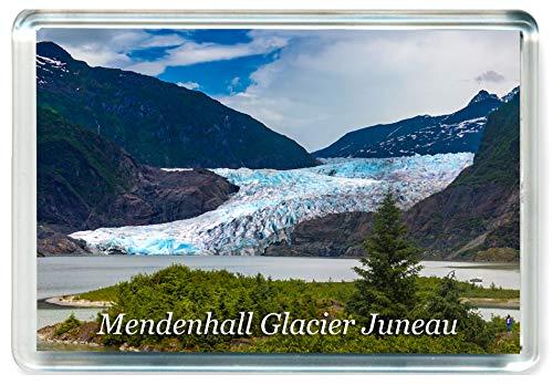 - K165 Mendenhall Glacier Juneau Jumbo Refrigerator Magnet USA - United States of America Travel Fridge Magnet