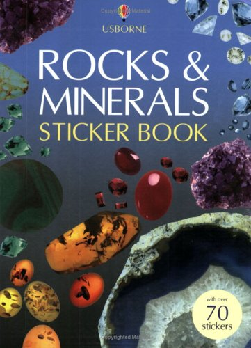 Rocks and Minerals Sticker Book (Spotter's Guide Sticker Books)