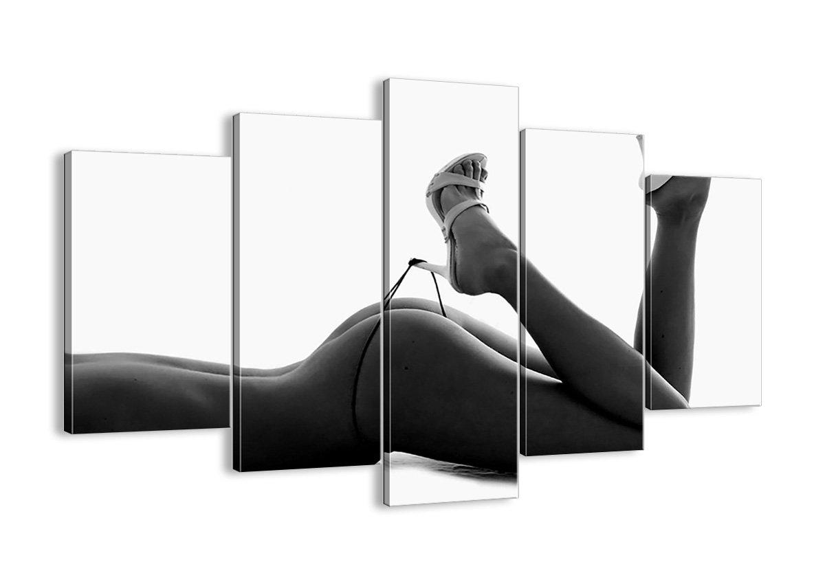 ARTTOR Bild auf Leinwand - Leinwandbilder - fünf Teile - Breite  150cm, Höhe  100cm - Bildnummer 0105 - fünfteilig - mehrteilig - zum Aufhängen bereit - Bilder - Kunstdruck - EA150x100-0105