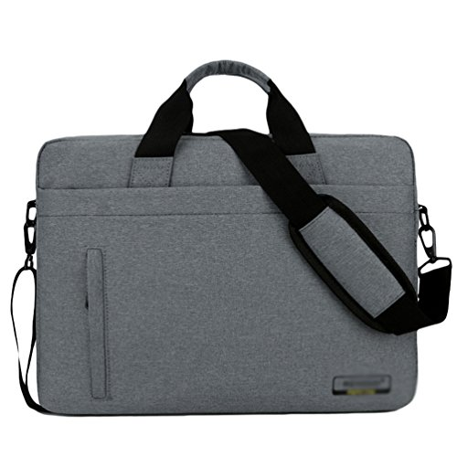 Bag Briefcase Case Shoulder Laptop Gray Dark Computer Messenger 2 Sunwanyi wE5nqw