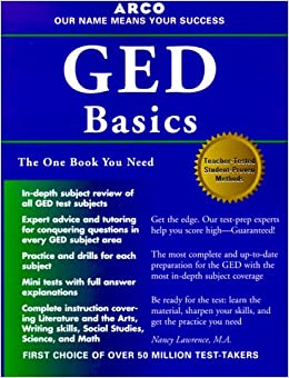 Arco Preparation for the GED Basics (Academic Test Prep)