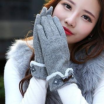GAYY Les Dames touchent des Gants d'écran Chauds Gants d'hiver conduisant des Gants